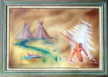 Original Southwestern Art at the American Indian Center of Chicago